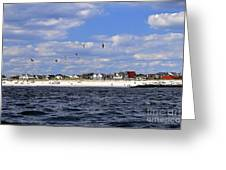 View Of Point Lookout Greeting Card