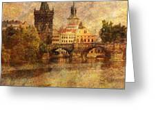View Of Prague Greeting Card