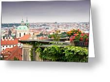 View Of Prague Greeting Card
