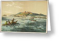 View Of Puynipet (bonibai) Greeting Card