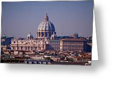 View Of Rome 2013 Greeting Card