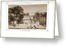 View Of The Castle, Paris And Surroundings Greeting Card