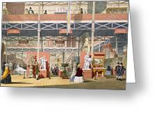 View Of The Italy Section Of The Great Greeting Card