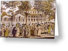 View Of The Jubilee Ball, Ranelagh Greeting Card