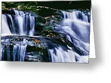 View Of Waterfall, Inversnaid Falls Greeting Card