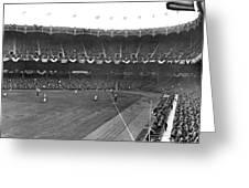 View Of Yankee Stadium Greeting Card