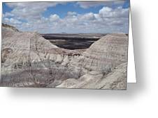 View On The Blue Mesa Trail Greeting Card