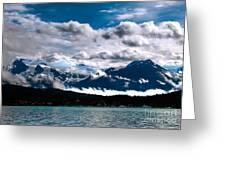 Viewing Auke Bay Greeting Card