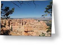 Viewpoint At Bryce Canyon  Greeting Card