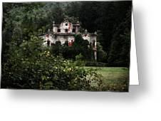 Villa De Vecchi Greeting Card