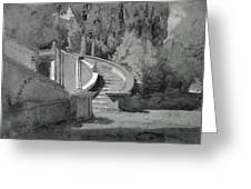Villa Deste, Tivoli Greeting Card