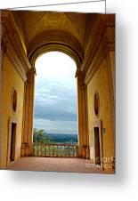 Villa Deste Tivoli Italy Greeting Card