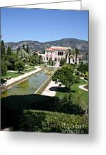 Villa Ephrussi De Rothschild And Garden Greeting Card