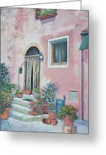 Villa In Il Borro Tuscany Greeting Card
