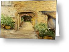 Villa In Italy Greeting Card