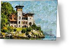 Villa La Gaeta Greeting Card