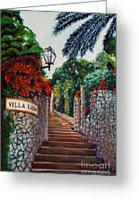 Villa Lidia Greeting Card