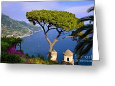Villa Rufolo Greeting Card