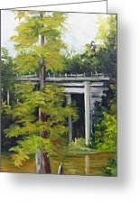 Village Creek Bridge Greeting Card