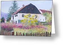 Village Of Kumrovec Croatia Greeting Card