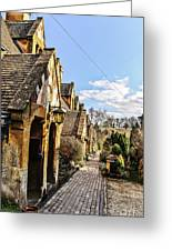 Village Of Winchcombe Greeting Card