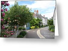 Village Road Greeting Card