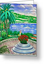 Villefranche Sur Mer---cote-d'azur Greeting Card