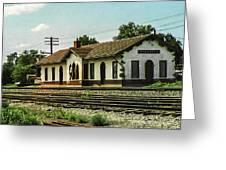 Villisca Train Depot Greeting Card