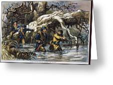 Vincennes: March, 1779 Greeting Card by Granger
