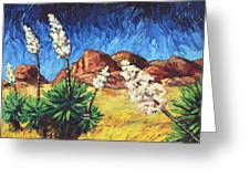 Vincent In Arizona Greeting Card