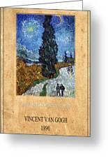 Vincent Van Gogh 4 Greeting Card
