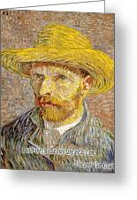 Vincent Van Gogh Quotes 6 Greeting Card