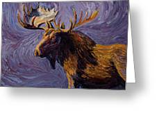 Vincent Van Moose Greeting Card
