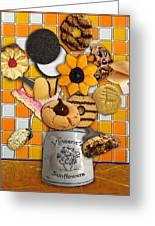 Vincent's Sunflower Cookie Jar Greeting Card