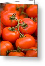 Vine Tomato Greeting Card