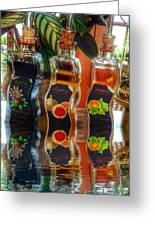 Vinegar Reflects  Greeting Card