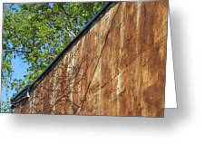 Vines And Rust Greeting Card