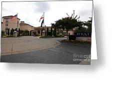 Vineyard Creek Hyatt Hotel Santa Rosa California 5d25789 Greeting Card by Wingsdomain Art and Photography