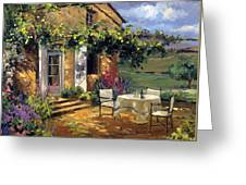 Vineyard Villa Greeting Card