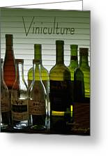 Viniculture  Greeting Card