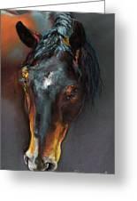 Vinnie Mustang Love Greeting Card
