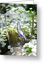 Vinsanchi Glass Art-3 Greeting Card