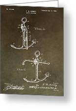 Vintage 1902 Anchor Patent Greeting Card