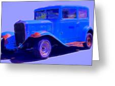 Vintage 1940's Chevrolet Greeting Card