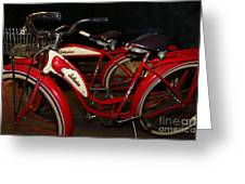 Vintage 1941 Boys And 1946 Girls Bicycle 5d25760 Greeting Card