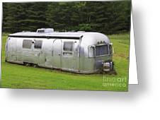 Vintage Airstream Trailer Greeting Card
