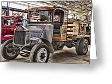 Vintage Albion Truck Greeting Card