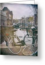 Vintage Amsterdam Greeting Card