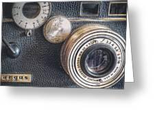 Vintage Argus C3 35mm Film Camera Greeting Card