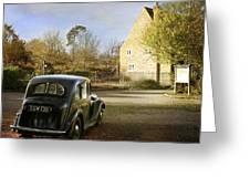 Vintage Austin 14  Greeting Card by Stephen Norris